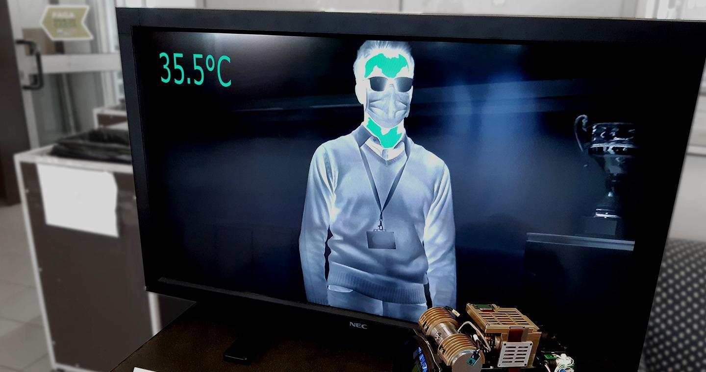 La technologie infrarouge utilisée pour protéger le personnel contre les infections