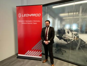 LDO_George Coulloupas (Business Development Managaer – Space - Leonardo Australia)