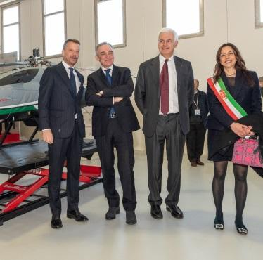 Leonardo opens a new facility in Pisa and unveils its enhanced AWHERO Rotary Unmanned Air System