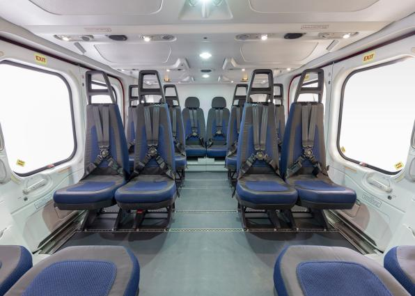 Exceptional cabin flexibility