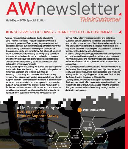 AWnewsletter Heli-Expo 2019 Special Edition