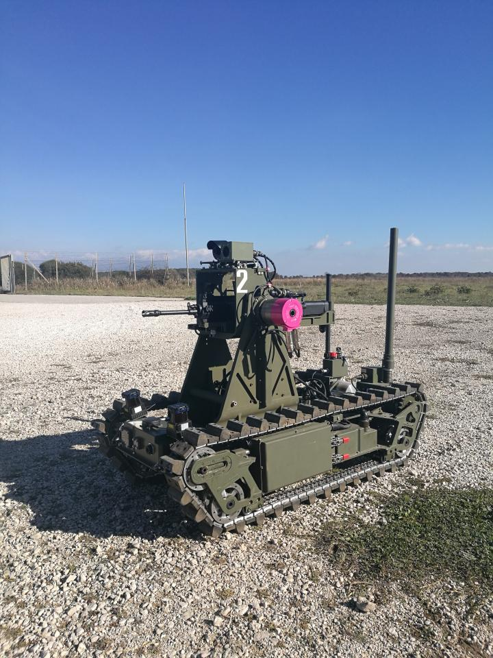 Unmanned systems for Land Operations